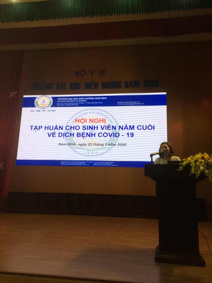 Hundreds of NDUN students volunteered to participate in preventing COVID-19
